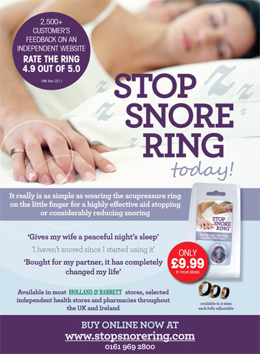 Stop Snore Ring - Stop Snoring Today